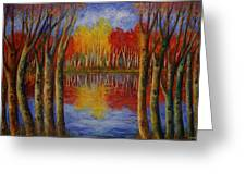 Autumn. Greeting Card