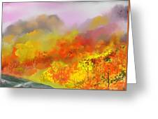 Autumn Expression Greeting Card