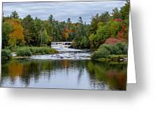 Autumn Falls Greeting Card