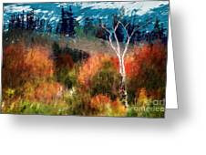 Autumn Feel Greeting Card