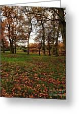 Autumn Fields, Greeting Card