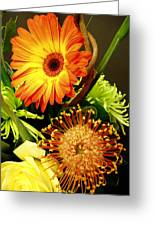 Autumn Flower Arrangement Greeting Card