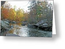 Autumn Flows Toward Winter Greeting Card