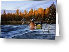 Autumn Front Greeting Card