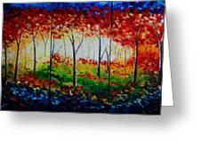 Autumn Glade Greeting Card