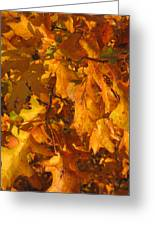 Autumn Gold Greeting Card