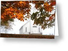Autumn Grace Greeting Card