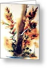 Autumn Gul Greeting Card