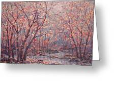Autumn Harmony. Greeting Card