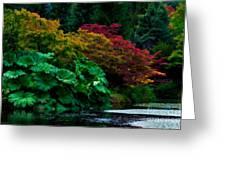 Autumn Has Begun Greeting Card