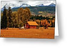 Autumn Hideaway Greeting Card