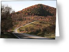 Autumn Hill Near Hancock Maryland Greeting Card