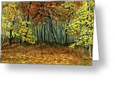 Autumn Hollow Greeting Card