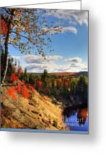 Autumn In Arrowhead Provincial Park Greeting Card
