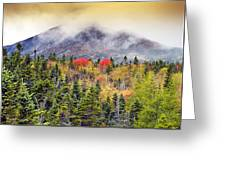 Autumn In Baxter State Park Maine Greeting Card