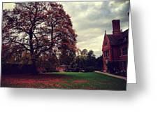 Autumn In Cambridge  Greeting Card