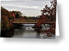 Autumn In Clinton Greeting Card