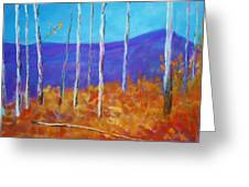 Autumn In Cloudcroft Greeting Card