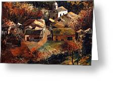 Autumn In Frahan Greeting Card