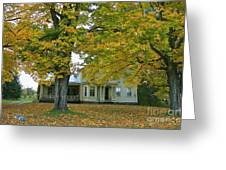 Autumn In Franklin Greeting Card
