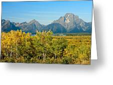 Autumn In Grand Teton National Park Greeting Card