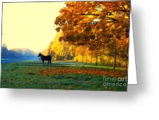 Autumn In Kathrines Way Greeting Card