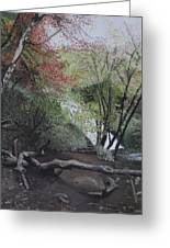Autumn In Japan Greeting Card