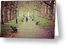 Autumn In London Greeting Card