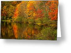 Autumn In Monroe Greeting Card
