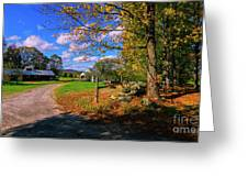 Autumn In Montpelier Greeting Card
