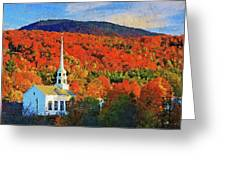 Autumn In New England - 04 Greeting Card
