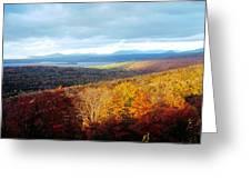 Autumn In Rangeley Greeting Card