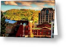 Autumn In Roanoke Greeting Card