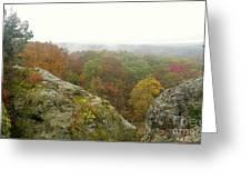 Autumn In Shawnee Greeting Card