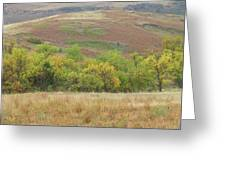 Autumn In Slope County Greeting Card