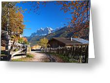 Autumn In South Tyrol Greeting Card