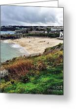 Autumn In St Ives Greeting Card