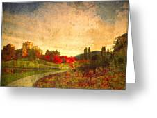 Autumn In The City 2 Greeting Card