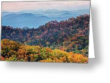 Autumn In The Great Smoky Mountains Greeting Card