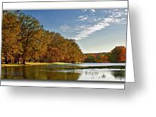 Autumn In The Hill Country Greeting Card