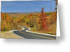 Autumn In The Hockley Valley Greeting Card