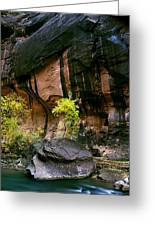 Autumn In The Narrows Greeting Card