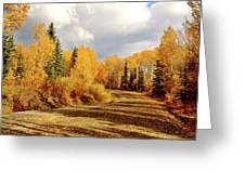 Autumn In The North Greeting Card