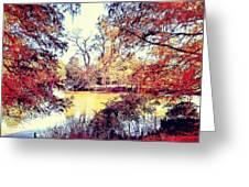 Autumn Island Greeting Card