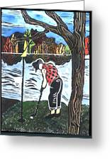 Autumn  Greeting Card by Jane Croteau