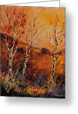 Autumn Landscape 45 Greeting Card