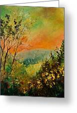 Autumn Landscape 5698 Greeting Card