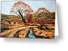 Autumn Landscape Greeting Card
