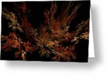 Autumn Leaf Dance Greeting Card