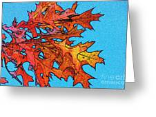 Autumn Leaves 14 Greeting Card